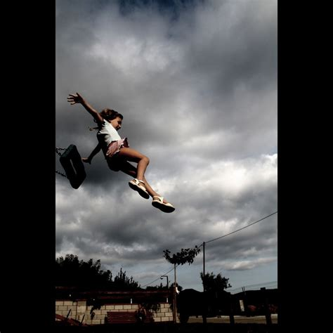 jump swing jumping of swing jump playground
