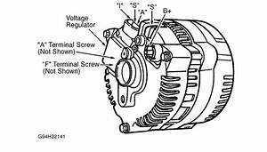 Alternator Not Charging  Electrical Problem 6 Cyl Front Wheel