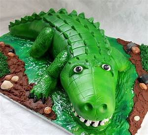 crocodile birthday cake crocodile birthday cakes With crocodile birthday cake template