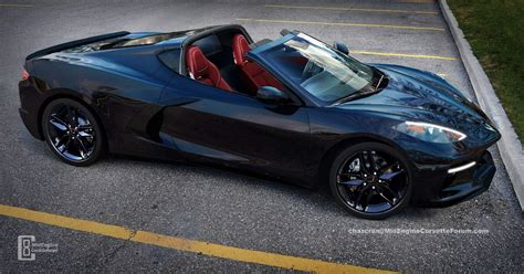2020 Corvette C8 Envisioned With The Targa Top Down