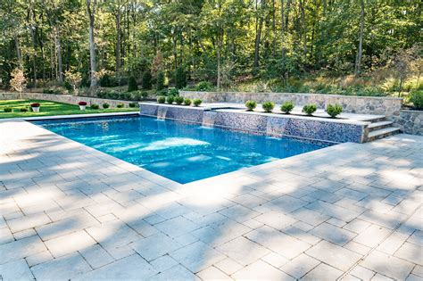 Pool Design by Inground Pool And Spa In Watchung By Pools By Design Nj