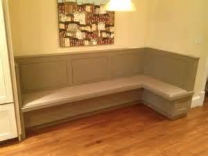 Built Breakfast Nook Bench