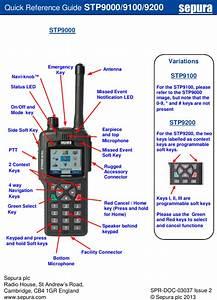 Sepura Stp9080 Tetra Portable Terminal With Bluetooth User