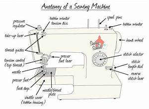 Basic Diagram Of A Sewing Machine