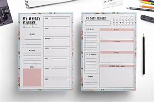 Weekly planner , daily planner ~ Templates ~ Creative Market