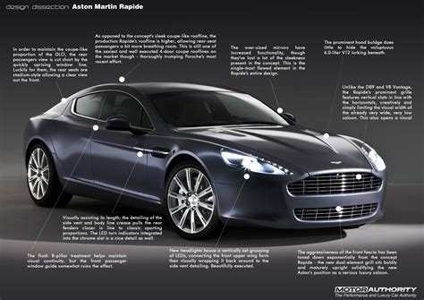 aston martin rapide design dissection