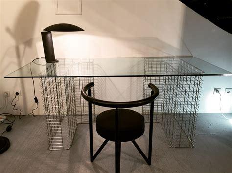 bureau metal et verre ées 80 ed habitat paul bert