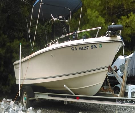 Boats For Sale In Blairsville Ga by 1991 20 Foot Kencraft Challenger Fishing Boat For Sale In