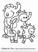 Vache Coloriages sketch template