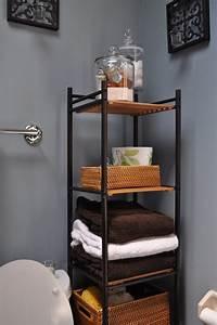 10, Organization, Rack, Design, Ideas, For, Small, Bathroom