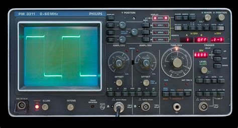 user manual  oscilloscope  philips