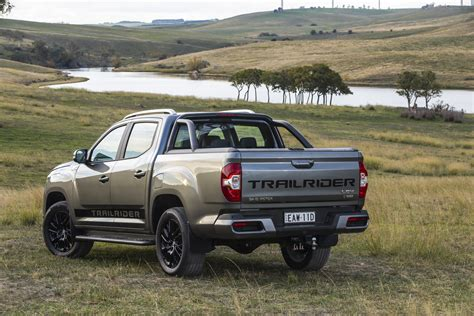 A lot goes into a g10 van. LDV T60 Trailrider Limited Edition Review - Ute Guide