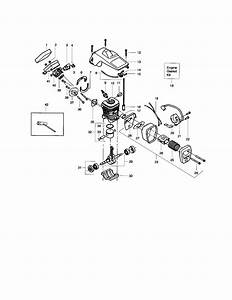 Poulan Model 2075 Type 1  2  3  4 Chainsaw  Gas Genuine Parts