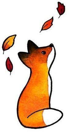 dessin renard facile r 233 sultat de recherche d images pour quot dessin renard quot bullet drawings fox drawing et