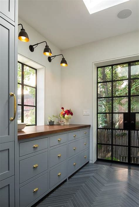 Popular Paint Colors For Living Rooms 2015 by Benjamin Moore Deep Silver Cabinets Contemporary