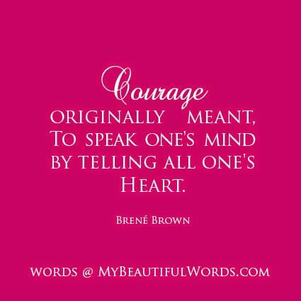 brene brown quotes  courage quotesgram