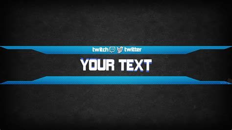 youtube banner template  p hd