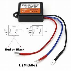 3 Pin Led Flasher Relay Wiring Diagram