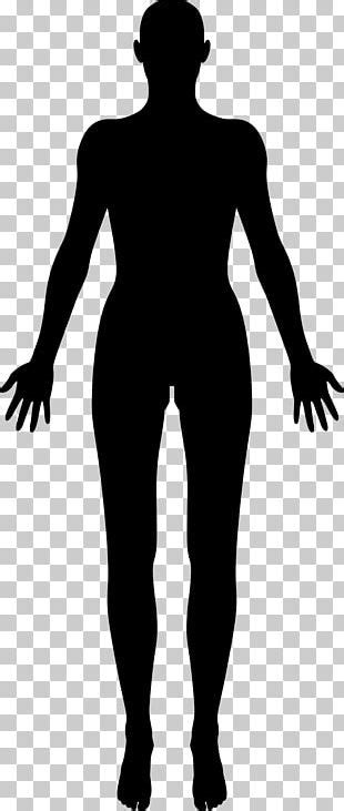 library  human body model clip black  white png files