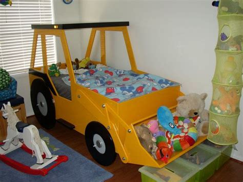 front  loader twin size bed woodworking plan