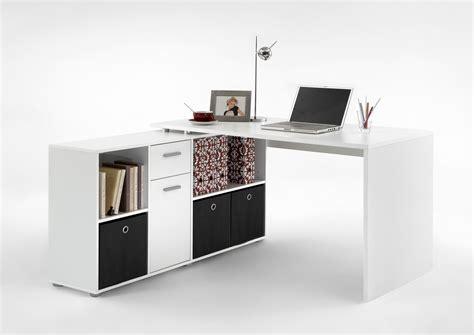 bureau angle but bureau d 39 angle réversible contemporain blanc phénicia