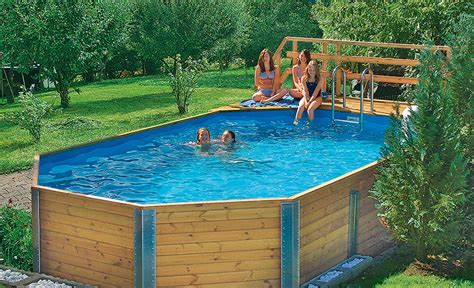 Swimmingpool Für Garten by Bausatz Pool Wasser Im Garten Teich Selbst De