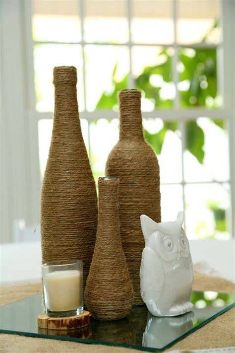 decorative wine bottles diy 20 creative diy wine bottle ideas home design and interior
