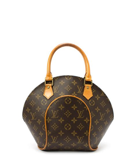 louis vuitton ellipse ab rated brown monogram bag