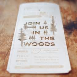 wedding invitations with pictures christine ian 39 s diy lasercut woodland wedding invitations