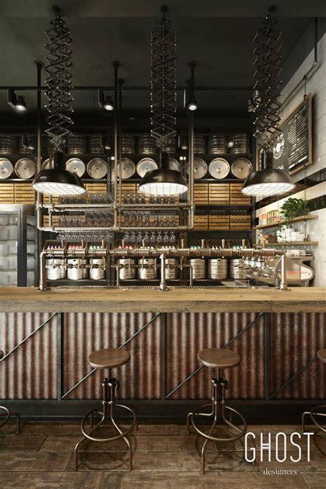 bar front idea rustic restaurant