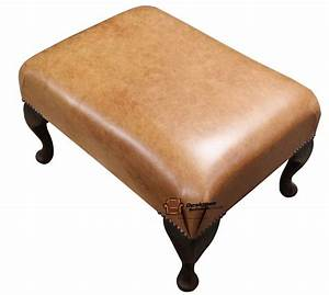 Chesterfield 193039s Queen Anne Footstool UK Maufactured