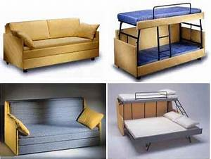 click clack sofa bed sofa chair bed modern leather With sofa bunk bed transformer