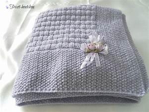 Couverture Bébé Garçon : comment tricoter une couverture de bebe ~ Teatrodelosmanantiales.com Idées de Décoration