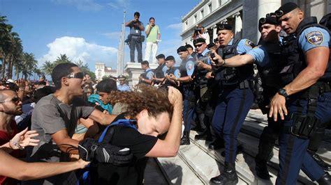 Report Finds Police Worldwide Criminalize Dissent, Assert