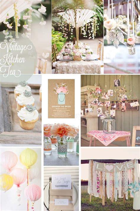 kitchen tea decoration ideas vintage kitchen tea wedding bells bridal