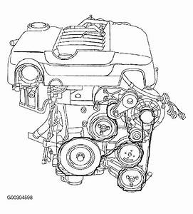 Diagram For Drive Belt Porsche Cayenne 05 Base Model V  6