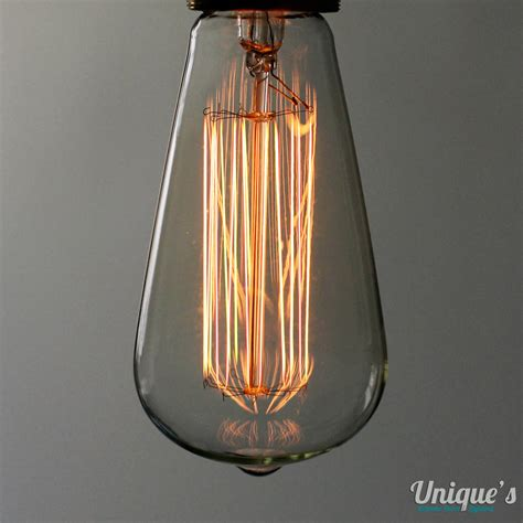 squirrel cage oblong light bulbs by unique s co