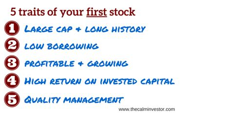 how to buy your stock the calm investor