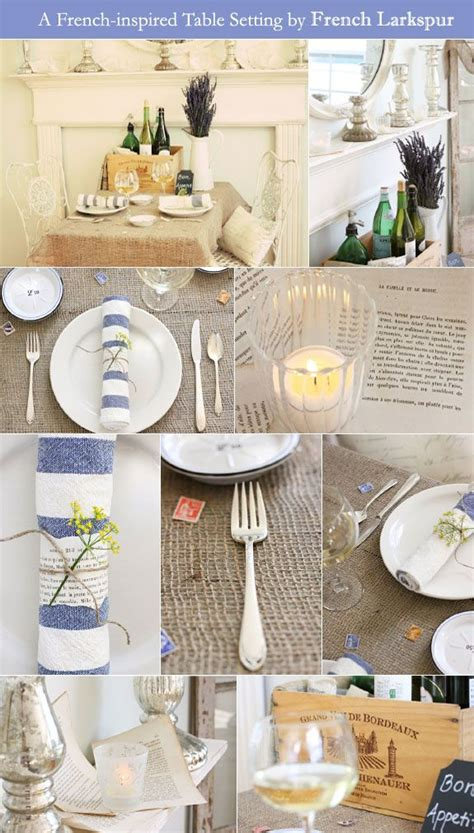 Fabulous Feature A Frenchinspired Table Setting Bridal