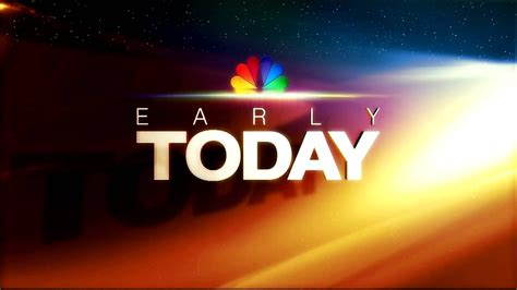 NBCNews: Early Today Open (HD) - YouTube