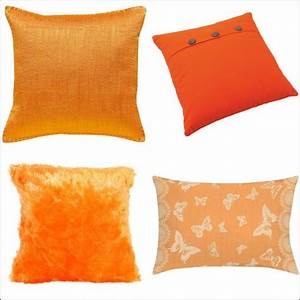 Coussin 45x45 Pas Cher : coussin orange choix et prix avec le guide shopping kibodio ~ Teatrodelosmanantiales.com Idées de Décoration