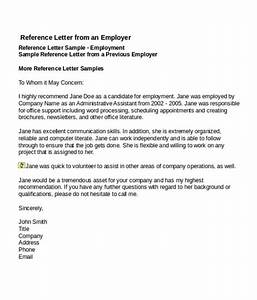 free sample professional letter of recommendation 4 job reference letter templates free word pdf