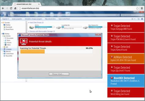 windows help desk scam microsoft security essentials used in tech support scam
