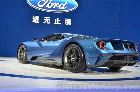 2017 Ford Gt Rear Three Quarters At 2018 Shanghai Auto