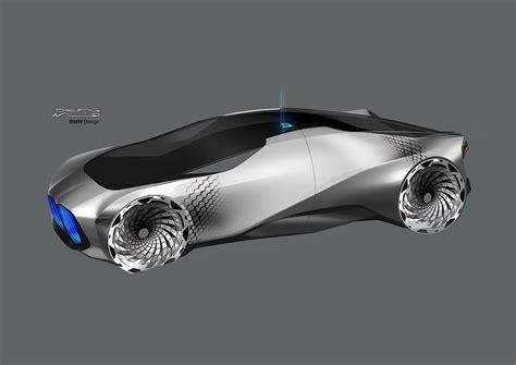 bmw vision   futuristic moving wheel arches