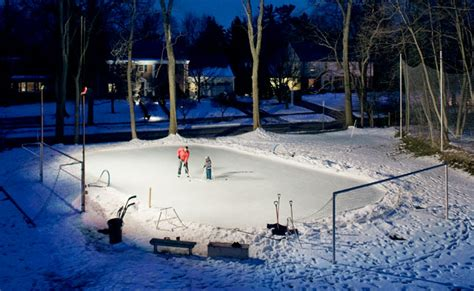 Backyard Ice Skating Rink  Diy Hockey Rink
