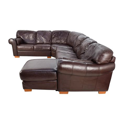 63 raymour flanigan raymour flanigan 4 leather sectional sofas