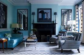 Navy Blue Interior Design Idea Teal Living Room Turquoise My Home Style