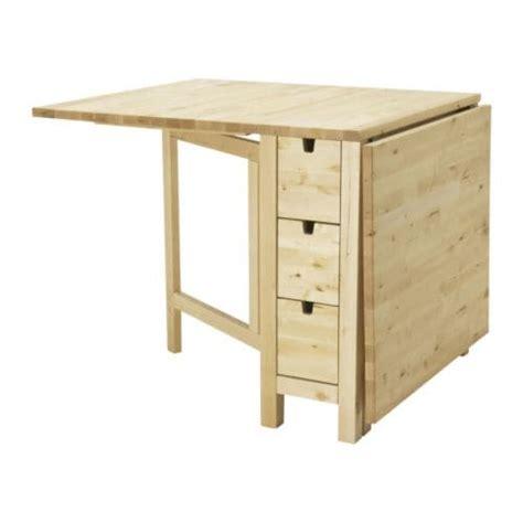 collapsible kitchen table ikea norden gateleg table ikea