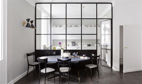 Cucina Con Vetrata by Un Appartamento D Epoca Con Parete Vetrata Che Divide